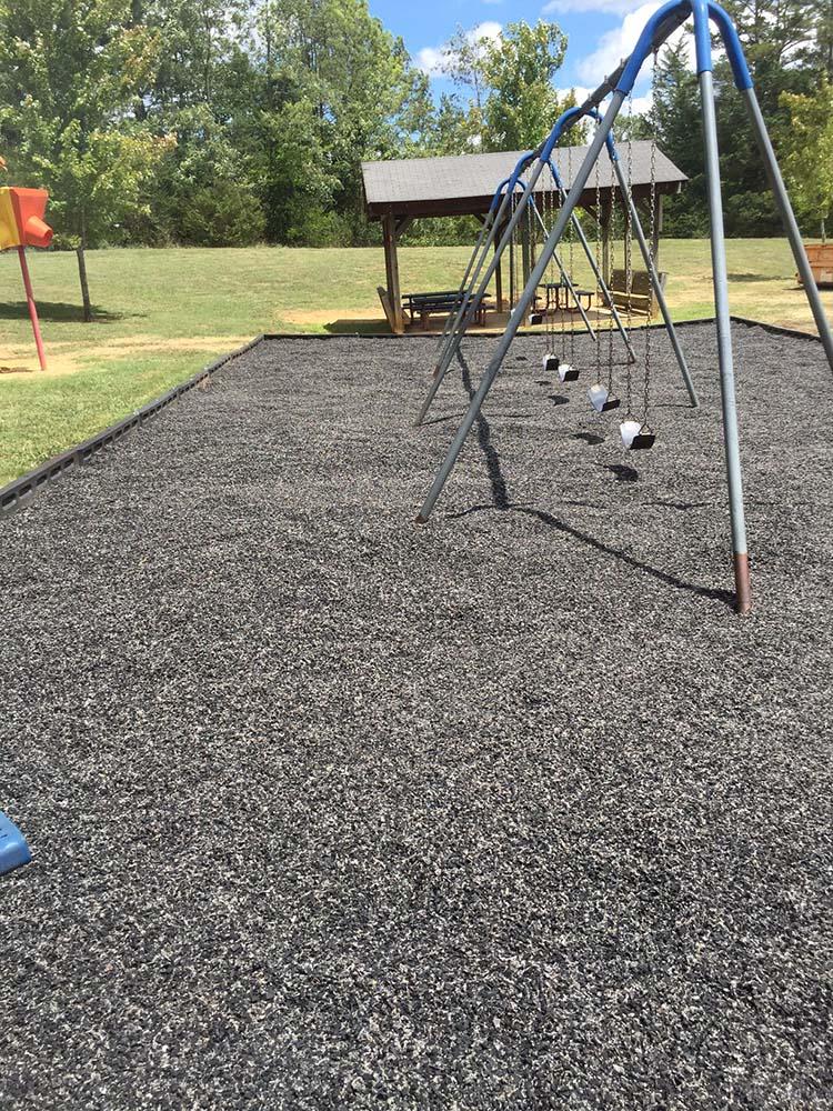 Playground After Magic Mulch