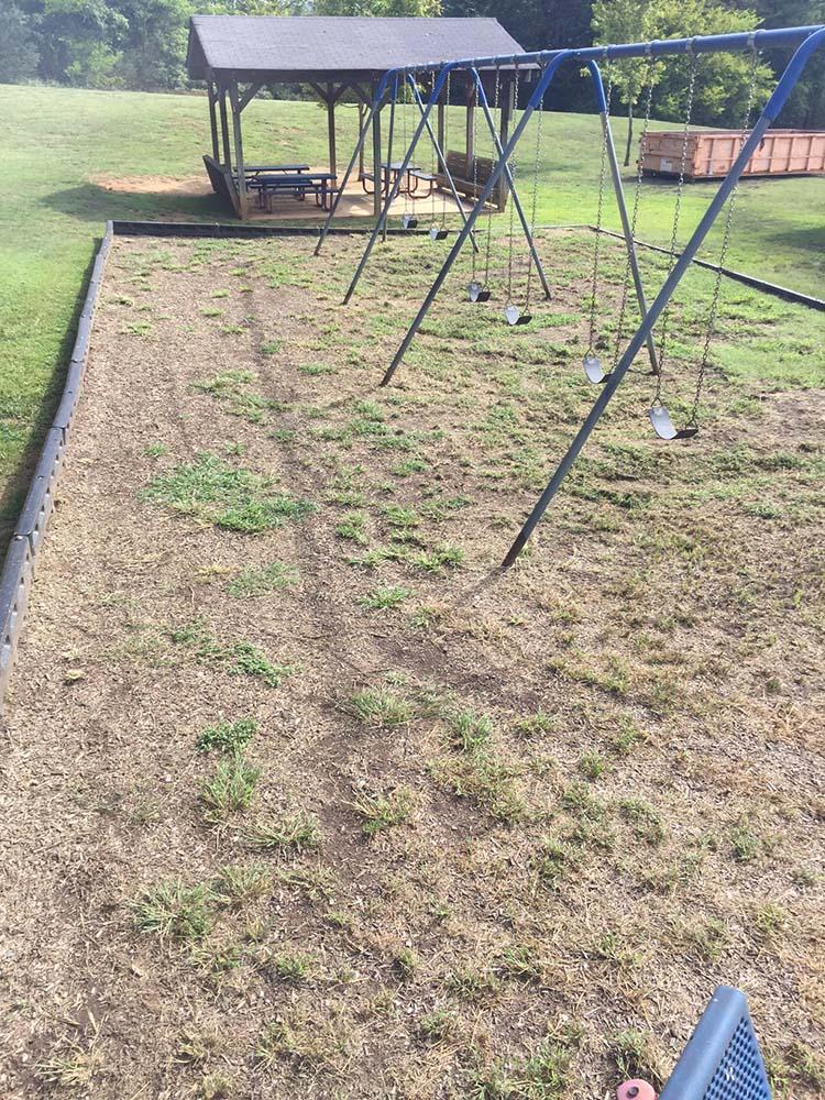 Playground Before Magic Mulch