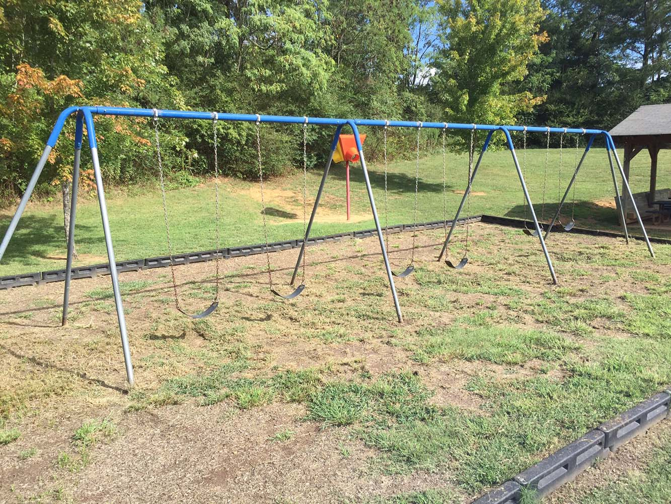 Playgrounds Before Magic Mulch