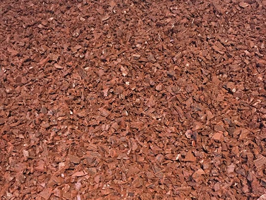 Red Playground Mulch