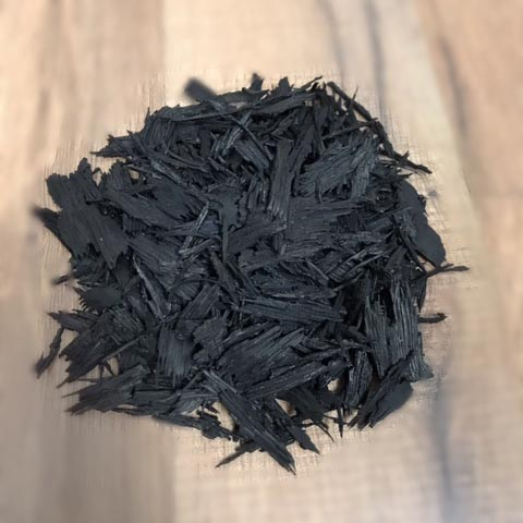 Black Shredded Mulch