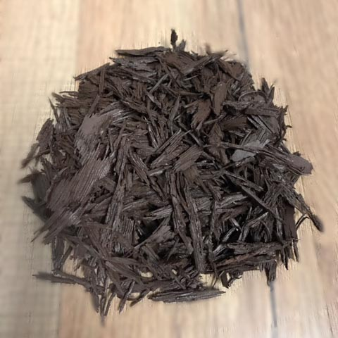Brown Shredded Mulch