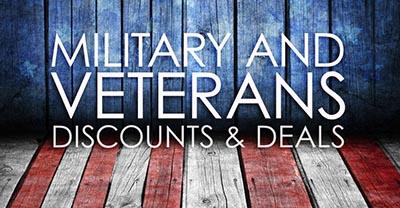 Military & Veterans Discounts & Deals